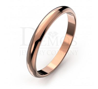 Обручальное кольцо (002s)