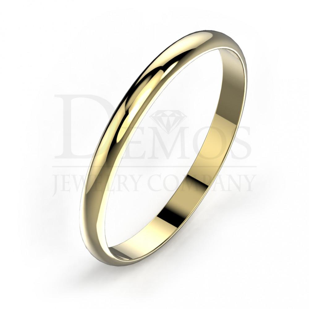 Обручальное кольцо (002y)