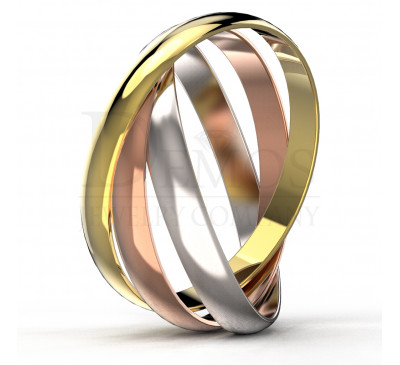 Обручальное кольцо (016)
