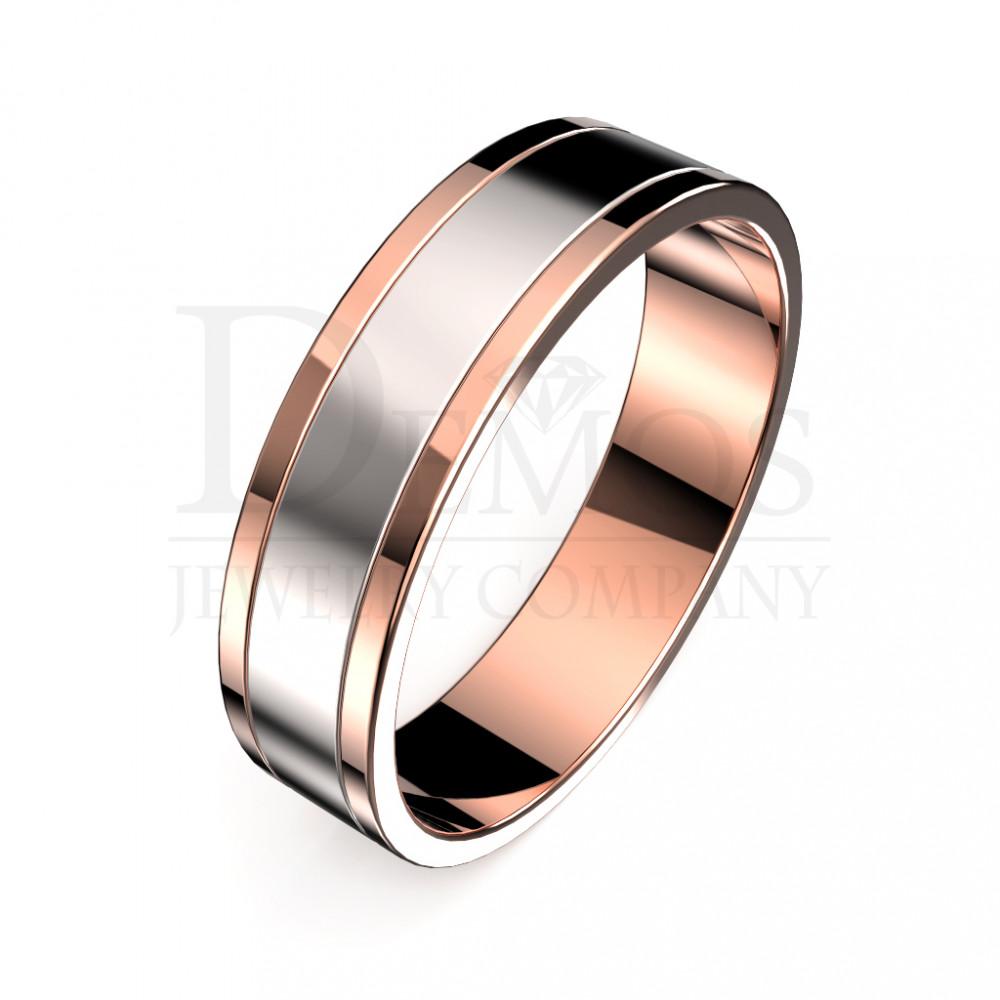 Обручальное кольцо (018)