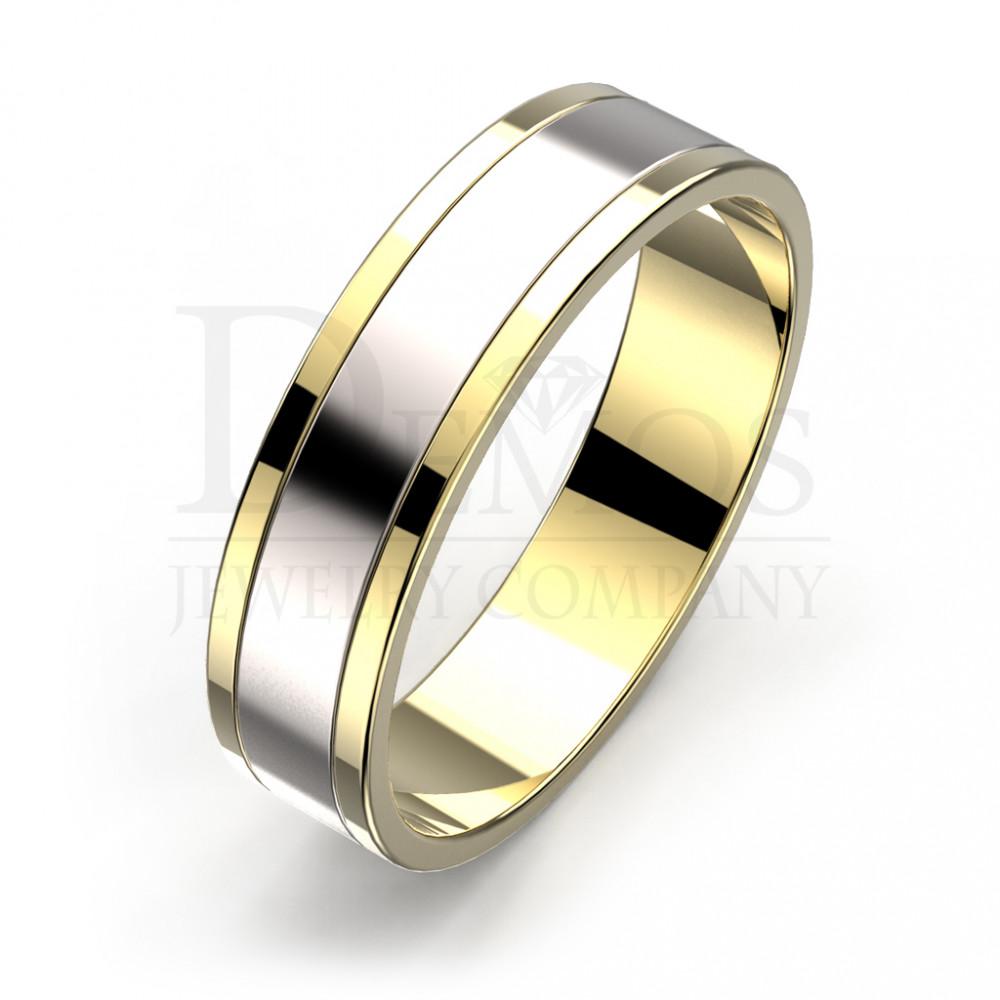 Обручальное кольцо (018y)