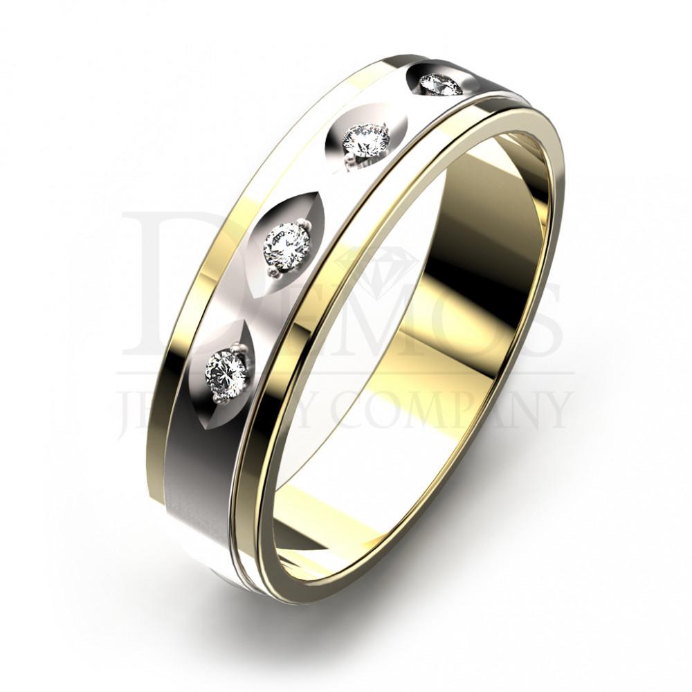 Обручальное кольцо (021y)