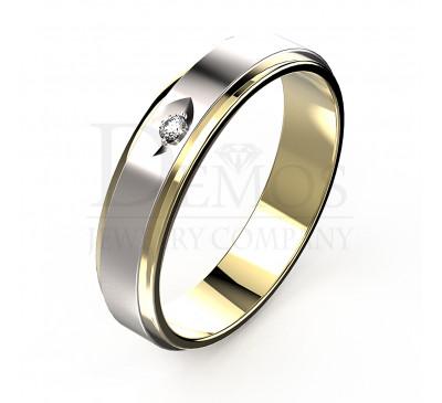 Обручальное кольцо (023y)