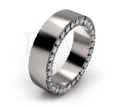 Обручальное кольцо (044w)
