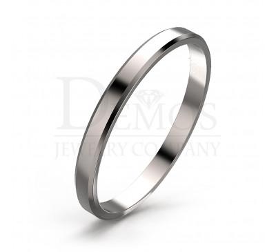 Обручальное кольцо (045w)