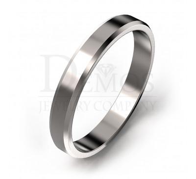 Обручальное кольцо (048w)