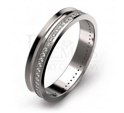 Обручальное кольцо (056w)