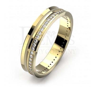 Обручальное кольцо (056y)