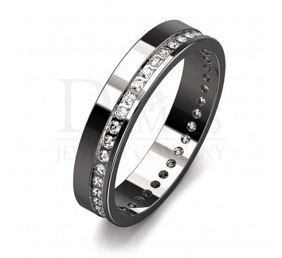 Обручальное кольцо (057w)