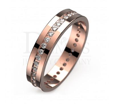 Обручальное кольцо (058)