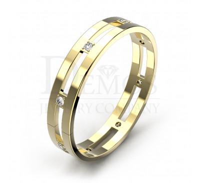 Обручальное кольцо (083y)