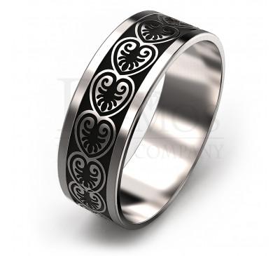Обручальное кольцо (095w)