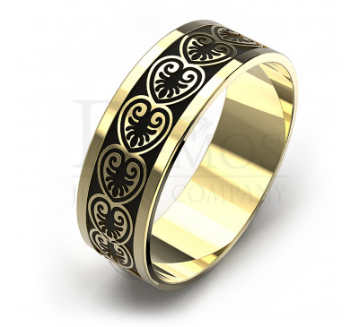 Обручальное кольцо (095y)