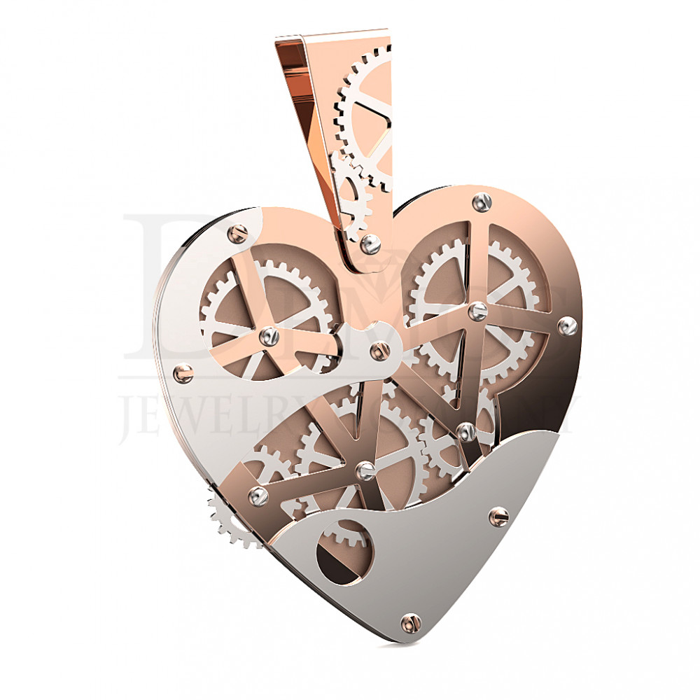 Подвеска Механическое сердце (1843)