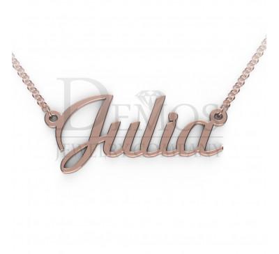 "Именная подвеска ""Julia"""